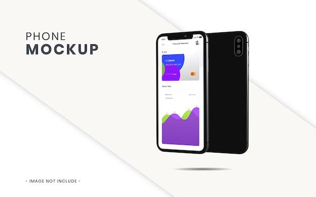 Phone mockup isolated