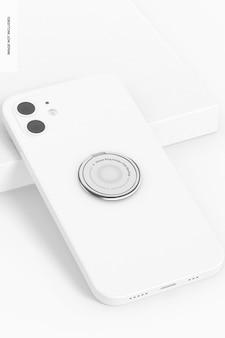 Мокап держателя телефонного кольца