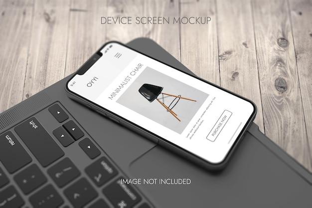 Phone screen - device mockup