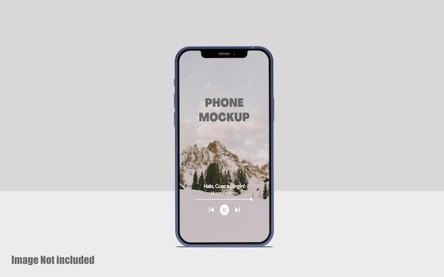 Мокап экрана телефона premium psd