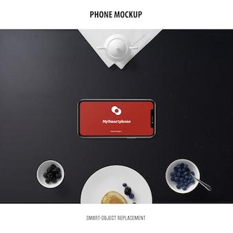 Phone screen mockup