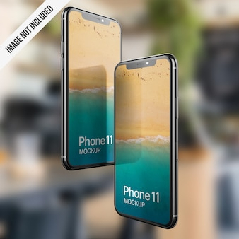 Phone screen mockup