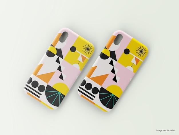Phone soft case mockup