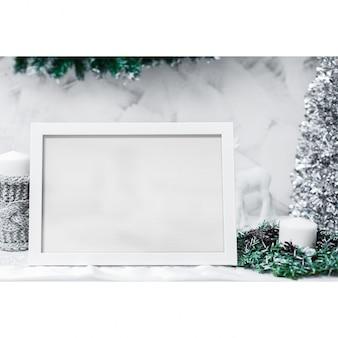 Photo frame mock up design