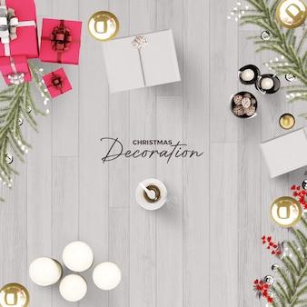 사진 프레임 폴라로이드 템플릿 크리스마스와 새해