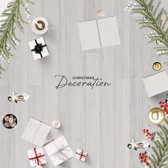 フォトフレームポラロイドテンプレートクリスマスと新年