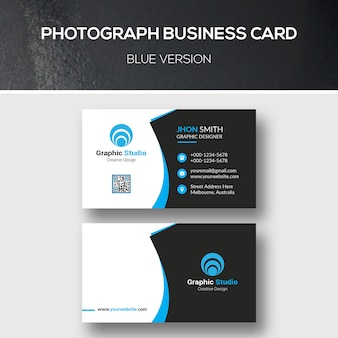 Photograph business card
