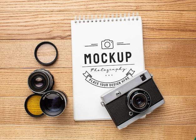 モックアップノートを使った写真家ワークショップ