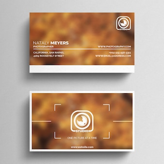Photography business card vectors photos and psd files free download photography business card template friedricerecipe Images