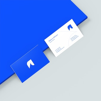 Фотореалистичный макет визитки
