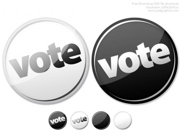 Photoshop pulsanti vuoti e votare