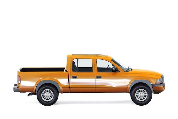Mockup di camioncino 2000