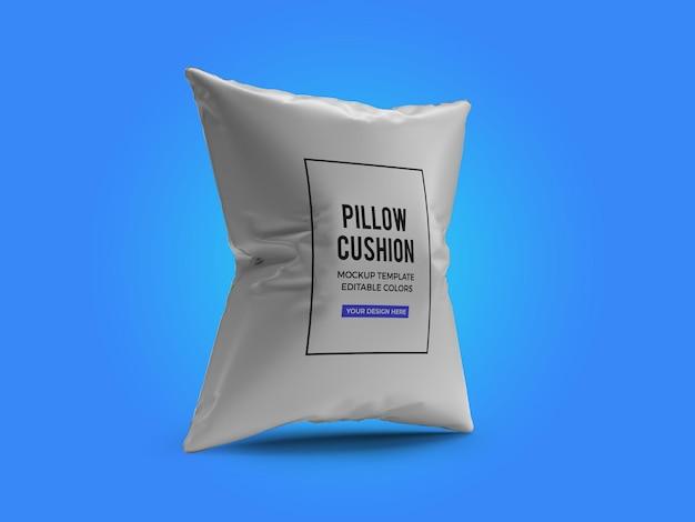 Pillow cushion mockup design rendering