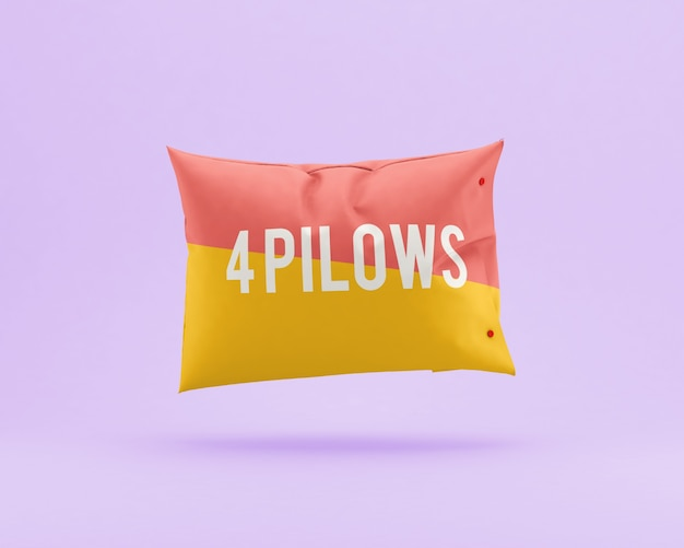 Pillow mock up
