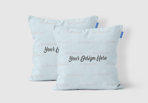 Pillow showcase mockup