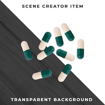 Таблетки, изолированные с отсечения путь