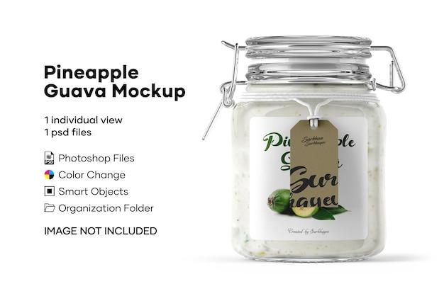 Pineapple guava mockup