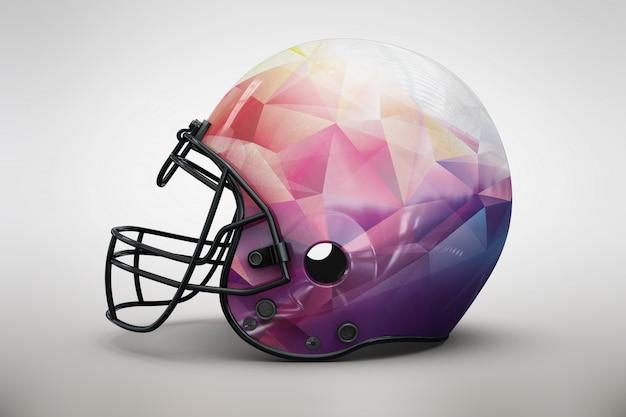 Pink helmet mock up