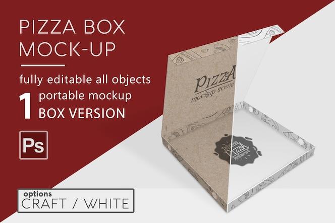 피자 상자 모형