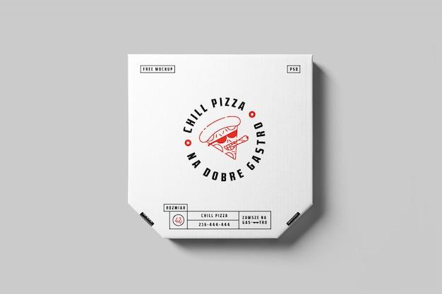 피자 박스 모형