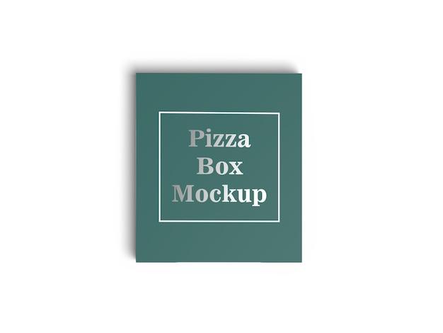 화이트 피자 상자