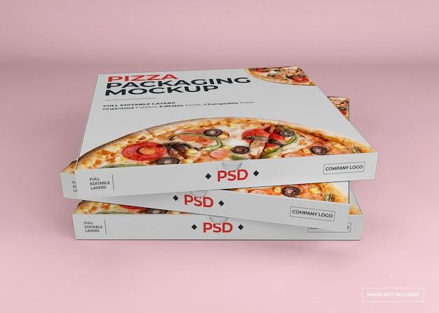 피자 상자 포장 이랑 디자인 절연