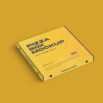 Простой мокап коробки для пиццы