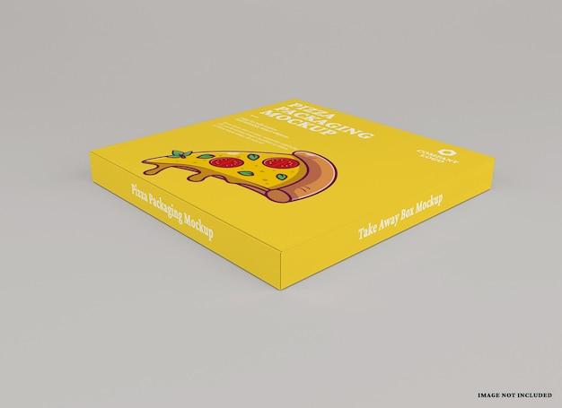 피자 패키지 모형 디자인