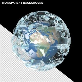 아이스 큐브의 행성 지구얼음 공의 행성 지구