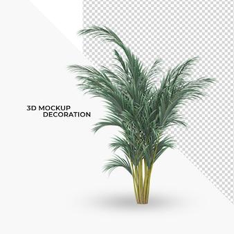 植物の装飾とインテリアデザイン