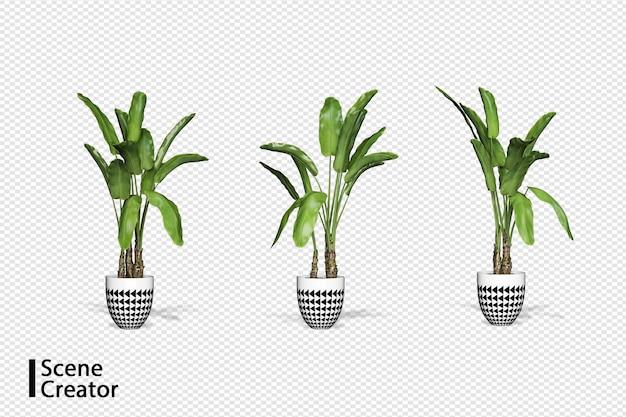 さまざまな角度の植物シーンクリエーター
