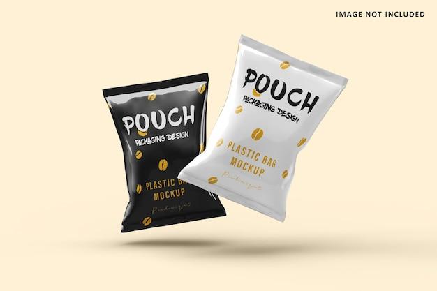 Макет полиэтиленового пакета
