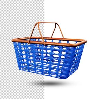 プラスチックバスケット透明背景psd