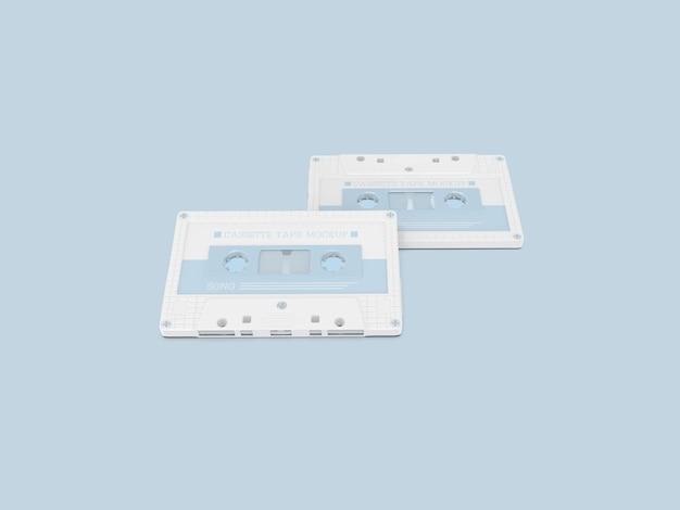 Макет пластиковых кассет