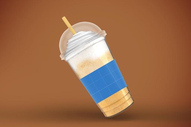 プラスチックのコップ