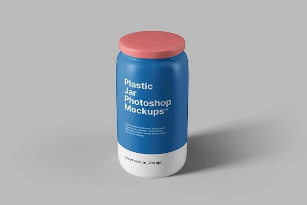 플라스틱 항아리 모형