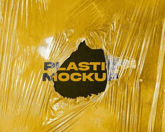Plastic mockup