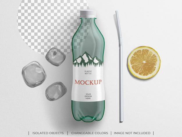 Пластиковая упаковка для бутылок с минеральной водой и водой