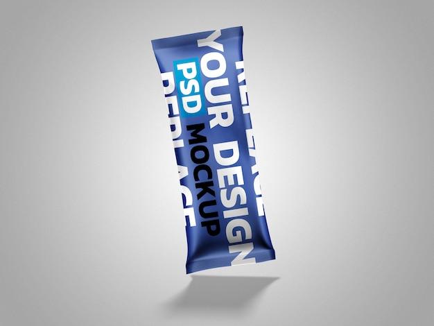 プラスチック包装モックアップ