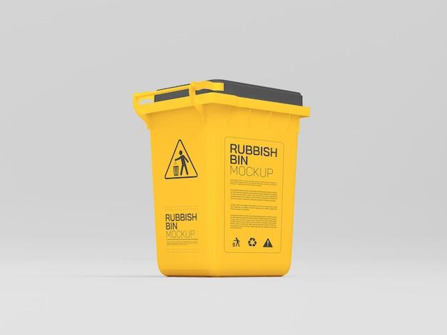 플라스틱 쓰레기통 모형