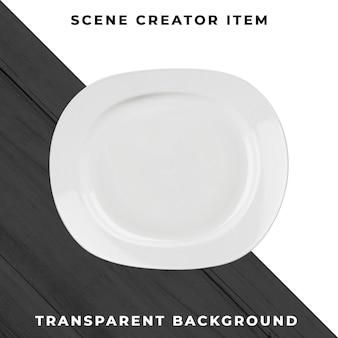 プレートオブジェクトの透明なpsd
