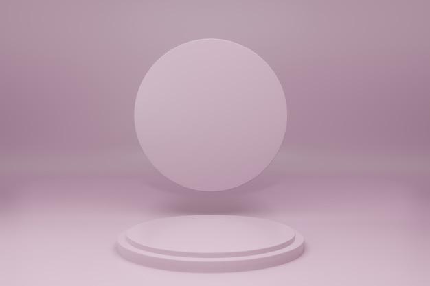 Podium in minimal design