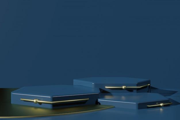 3dレンダリングシーンクリエーターでのpodiumプラットフォーム製品プレゼンテーション