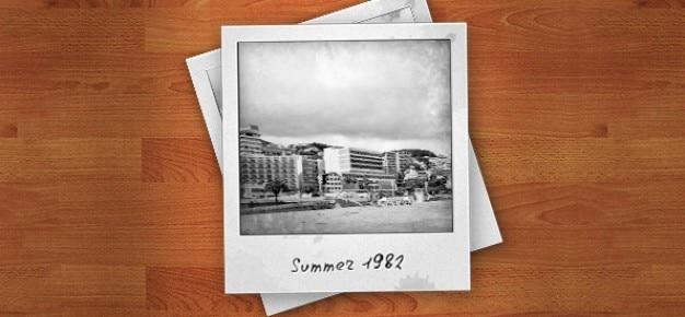 Polaroid psd photo frames
