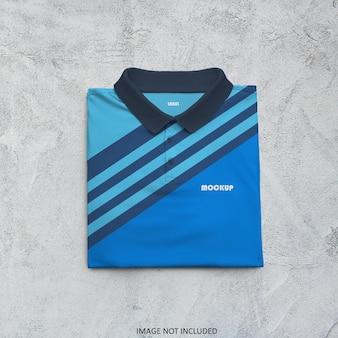 폴로 티셔츠 모형 디자인 절연