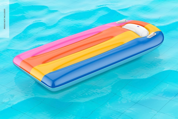 Pool float mockup