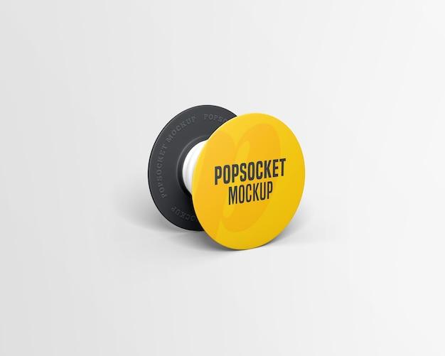 Popsocket mockup isolated