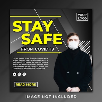 Post banner stay safe covid-19