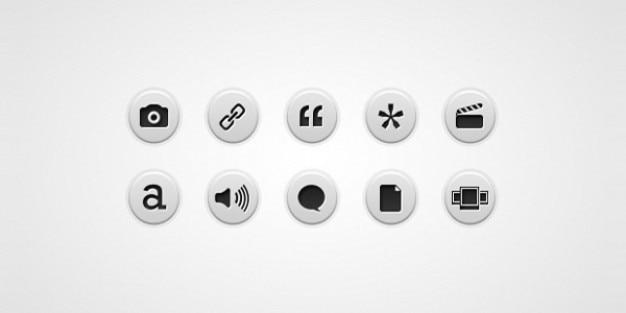 Icone di formato di post