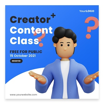 Post template men think of ideas for content home page premium psd